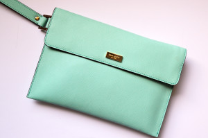 WIYB Laura's Kate Spade Clutch