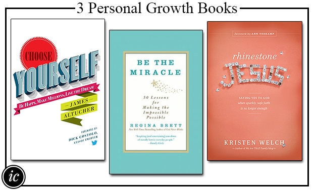 3 Personal Growth Books