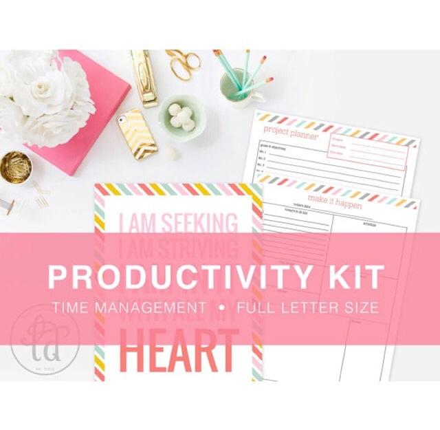 Productivity Kit by LD Creative Shop
