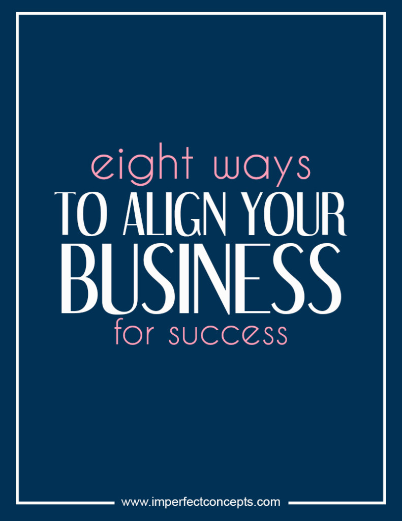 eight ways to align your business for success