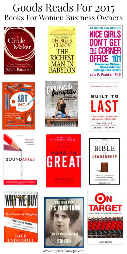 Good Reads For 2015 #imperfectconcepts