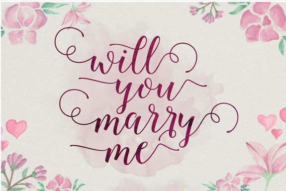 Octavia Script beautiful font for wedding day