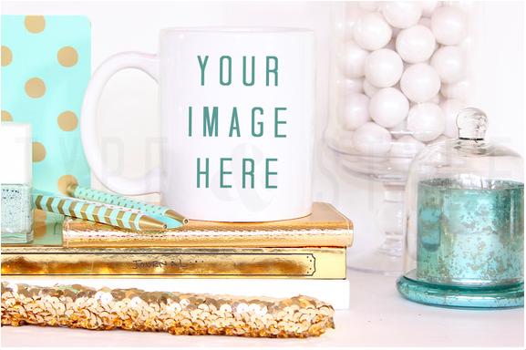 Styled Mug Styled Stock Photography
