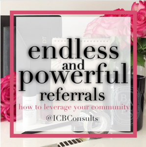 endless and powerful referrals ICBConsults
