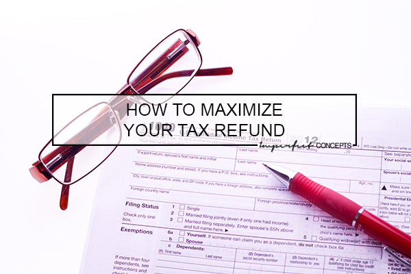 Learn how to maximize your tax refund to help you grow your small business.