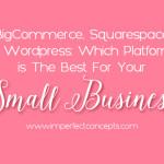 Bigcommerce, SS and Wordpress