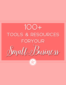 100+ Tools, Insight, Resource For The Creative Business Owner Who Want To Grow A Business On A Budget