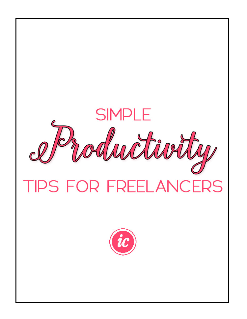 Ten simple productivity tips for the freelancers who wants to take more control over their business.