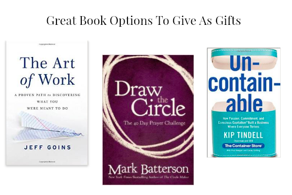 Three book options to give your friends, clients and fellow small business owners.