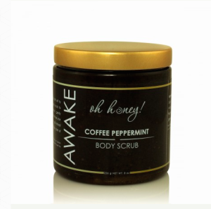 Coffee Peppermint Scrub great for acne and blackheads