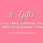 Sharing awesome gifts you can give your supporters.