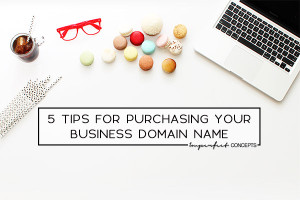 Insider tips on how to land the domain name of your dreams. | Imperfect Concepts