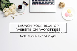 Step by step guide on how you can launch your blog or website on WordPress. | Imperfect Concepts
