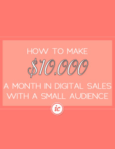 Sharing how I went to making $10K a month in digital product sales. | Imperfect Concepts #smallbusiness #digitalproducts