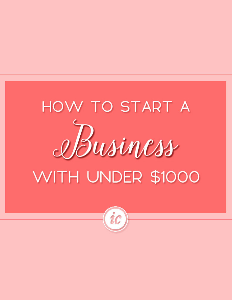 Guide to help you launch your product or service company on a limited budget. | Imperfect Concepts
