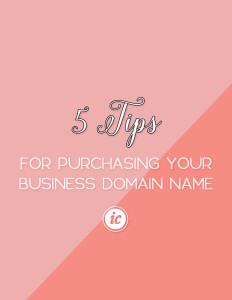 Explaining how to land the perfect business domain name. | Imperfect Concepts
