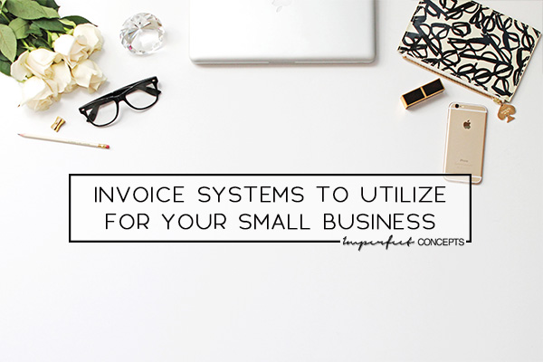 How to use Wave App to handle all your companies invoicing. | Imperfect Concepts #moneymanagement #smallbusiness #invoicing