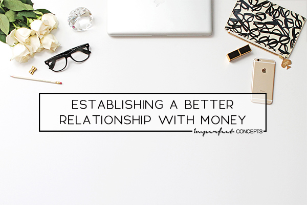 How I went from being stressed with debt to healthy relationship.   Imperfect Concepts #SmallBusiness #DebtFree #MoneyManagement