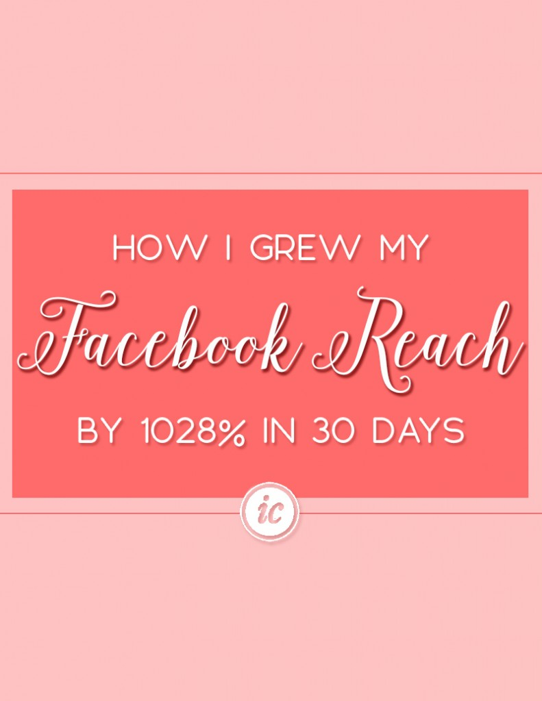 Breaking down how I increased by Facebook reach, likes and engagement in a short period of time. | Imperfect Concepts #SmallBusiness #SocialMedia #Facebook #Marketing