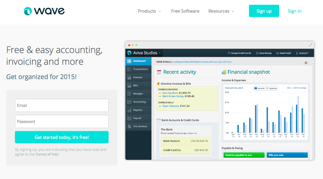 Invoice Systems To Utilize For Your Small Business Imperfect Concepts - Waveapps invoice