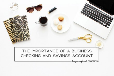 Understanding the importance of having a your money separate when running a small business. | Imperfect Concepts #blogging #finances #smallbusiness