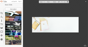 Step by step on how to create header image for mailchimp in picmonkey. | Imperfect Concepts #smallbusiness #maiilchimp #picmonkey #graphicdesign