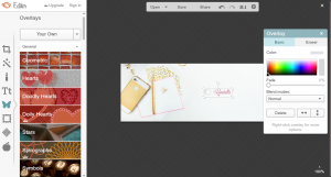 Step by step on how to create header image for mailchimp in picmonkey. | Imperfect Concepts #smallbusiness #maiilchimp #picmonkey #graphicdesign #watermark