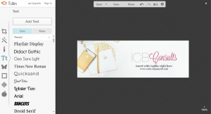 Step by step on how to create header image for mailchimp in picmonkey.   Imperfect Concepts #smallbusiness #maiilchimp #picmonkey #graphicdesign