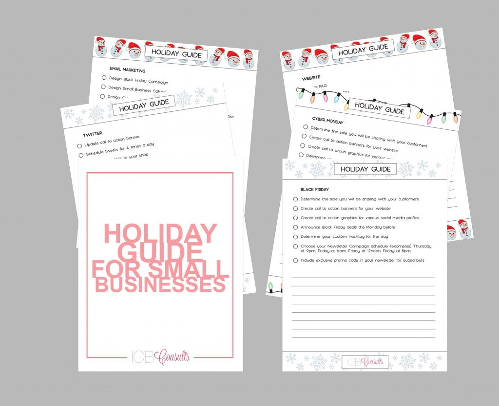 Establishing a solid plan for small business holiday season. | Imperfect Concepts #holidayseason #womeninbusiness #smallbusiness