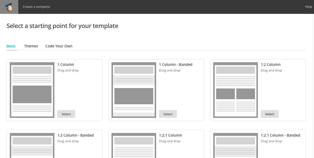 A Guide On How To Create A Newsletter Template In MailChimp ...
