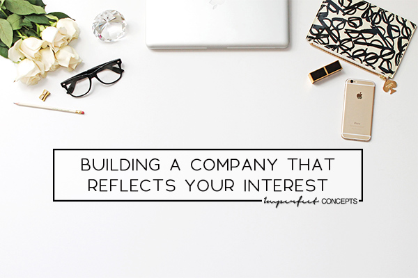 Your business doesnt need to be trendy to be successful. It needs to reflect your interest and passions.   Imperfect Concepts #smallbusiness #womeninbusiness #blogging #blog