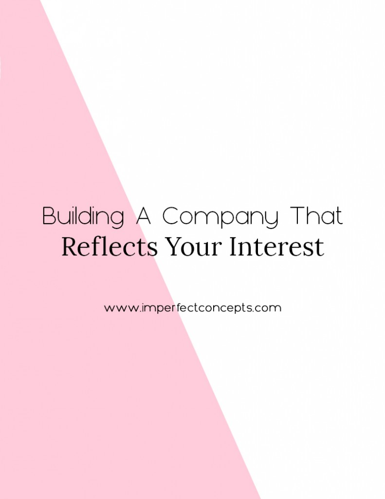 Your business doesnt need to be trendy to be successful. It needs to reflect your interest and passions. | Imperfect Concepts #smallbusiness #womeninbusiness #blogging #blog