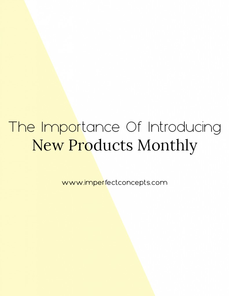 New products increase revenue stream. Old products are collecting dust. Learn how to leverage both to fuel your business. | Imperfect Concepts #smallbusiness #retail #blogging #online