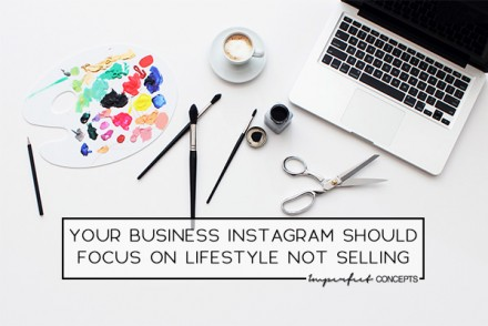 Instagram is the most popular social media website in the world. Learn how to use it correctly to grow your business. | Imperfect Concepts #smallbusiness #womeninbusiness #instagram #socialmedia #blogging