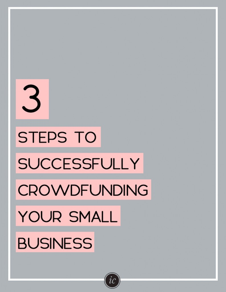 Learn how to crowdfund your business the right way. | Imperfect Concepts #smallbusiness #blogging #crowdfunding