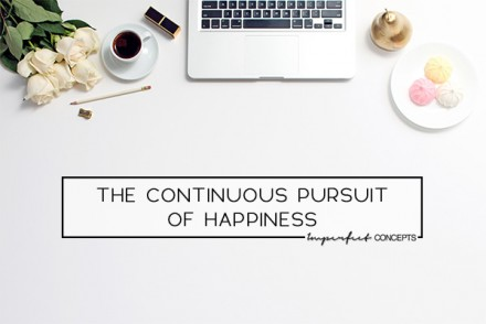 How I chose to pursue happiness over profit and what it did for my business. | Imperfect Concepts #business #blogging #smallbusiness