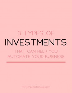 See how automation can change your business overnight. | Imperfect Concepts #blogging #smallbusiness #businessadvice