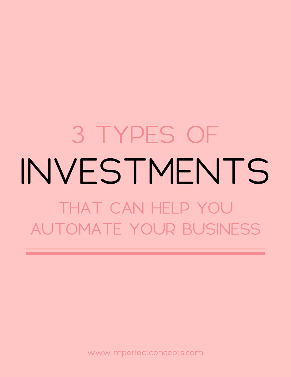 3 types of investments that can help you automate your business see how automation can change your business overnight imperfect concepts blogging smallbusiness