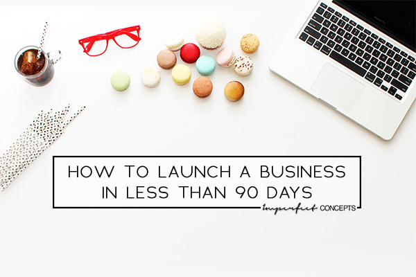 Wanting to launch now verse later? Breaking down everything you need to do to get your business off the ground.