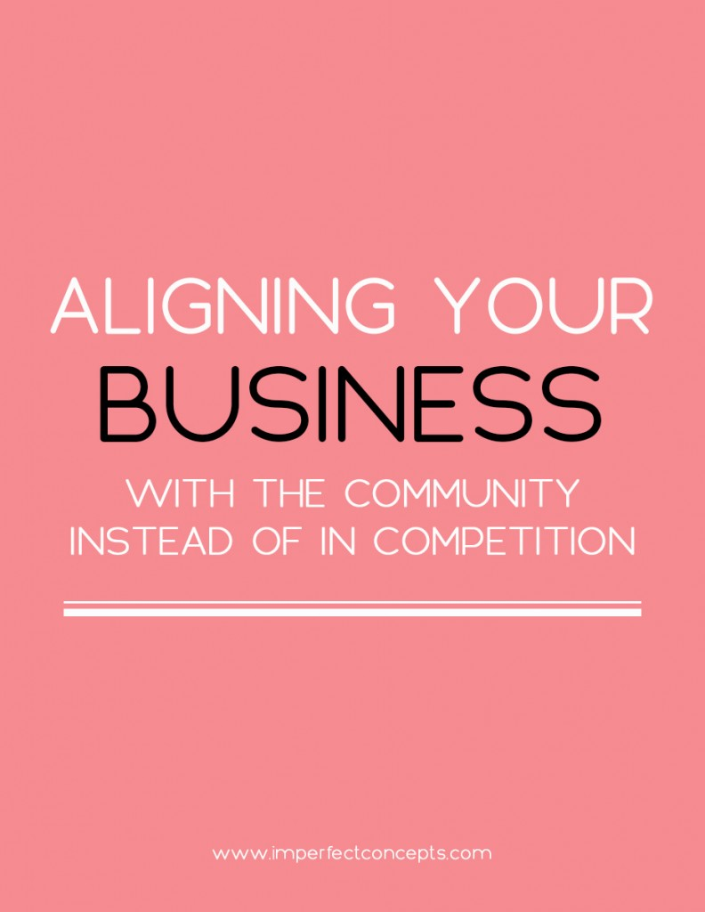 5 ways to establish your business with a community mindset over a competition mindset.