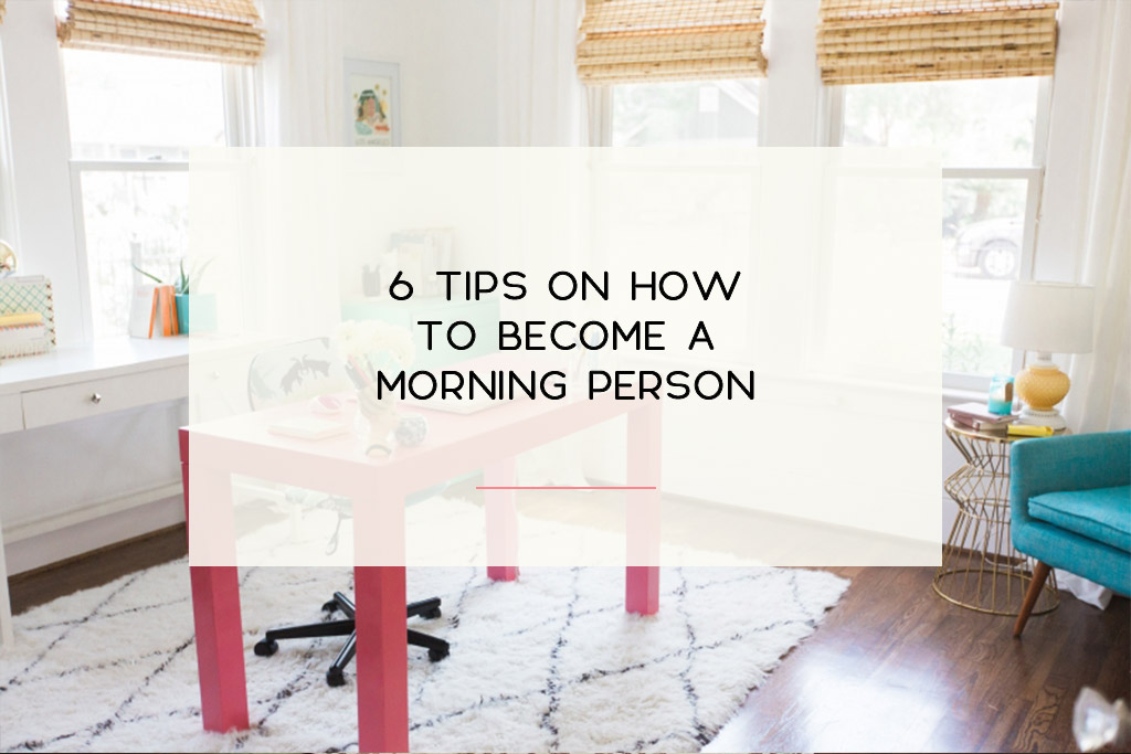 Very practical tips on how you can wake up with enthusiasm each day. | Imperfect Concepts