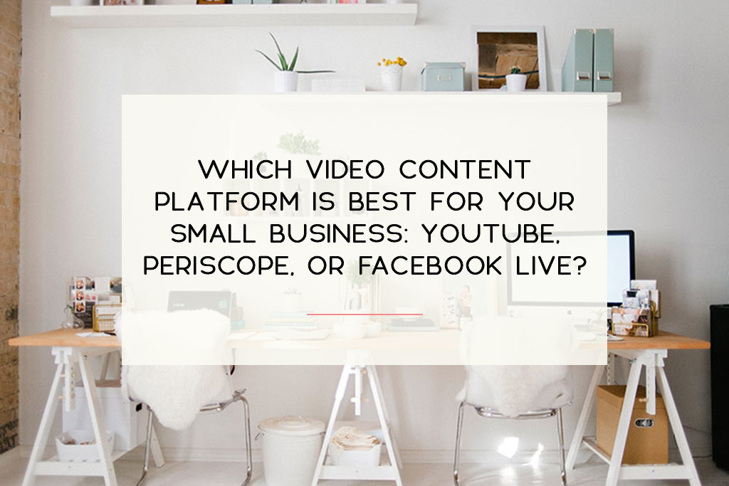 Learn the difference between Youtube, Periscope and Facebook Life. | Imperfect Concepts #blogging #vlogging #youtube #periscope #facebooklive