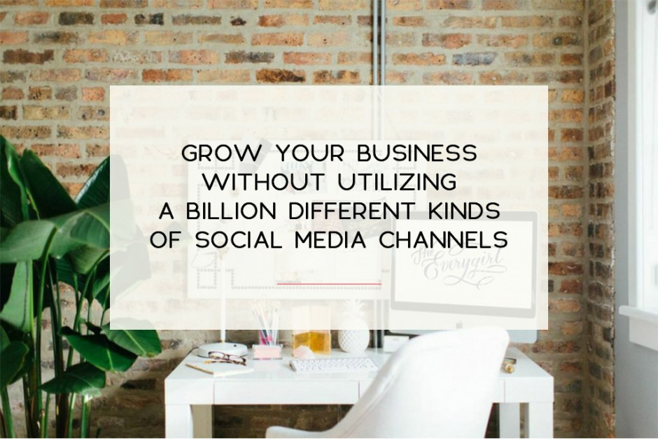 4 Honest things you need to know about growing your social media presence. | Imperfect Concepts #socialmedia #blogging #twitter #instagram #smallbiz
