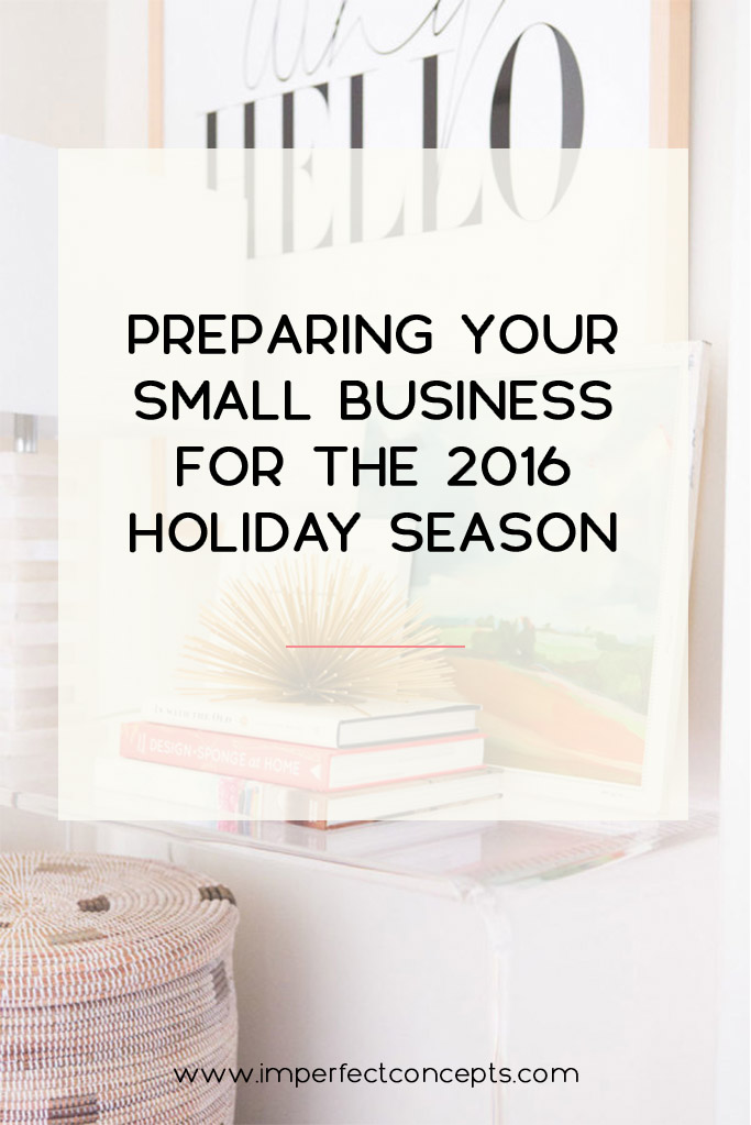 Vert12_Preparing Your Small Business For The 2016 Holiday Season