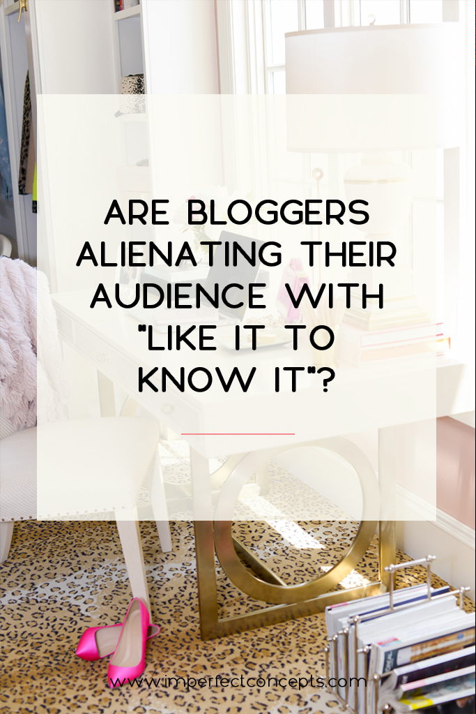 liketoKNOWit is killing the relationship between blogger + influencer with their audience. | Imperfect Concepts #smallbusiness #blogging #liketoKNOWit #rewardstyle