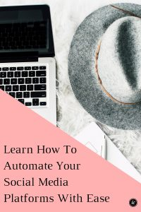 Sharing how you can automate your twitter, Instagram, & Facebook to increase your productivity as a business owner or blogger. | Imperfect Concepts #blogging #smallbusiness #instagram #automation