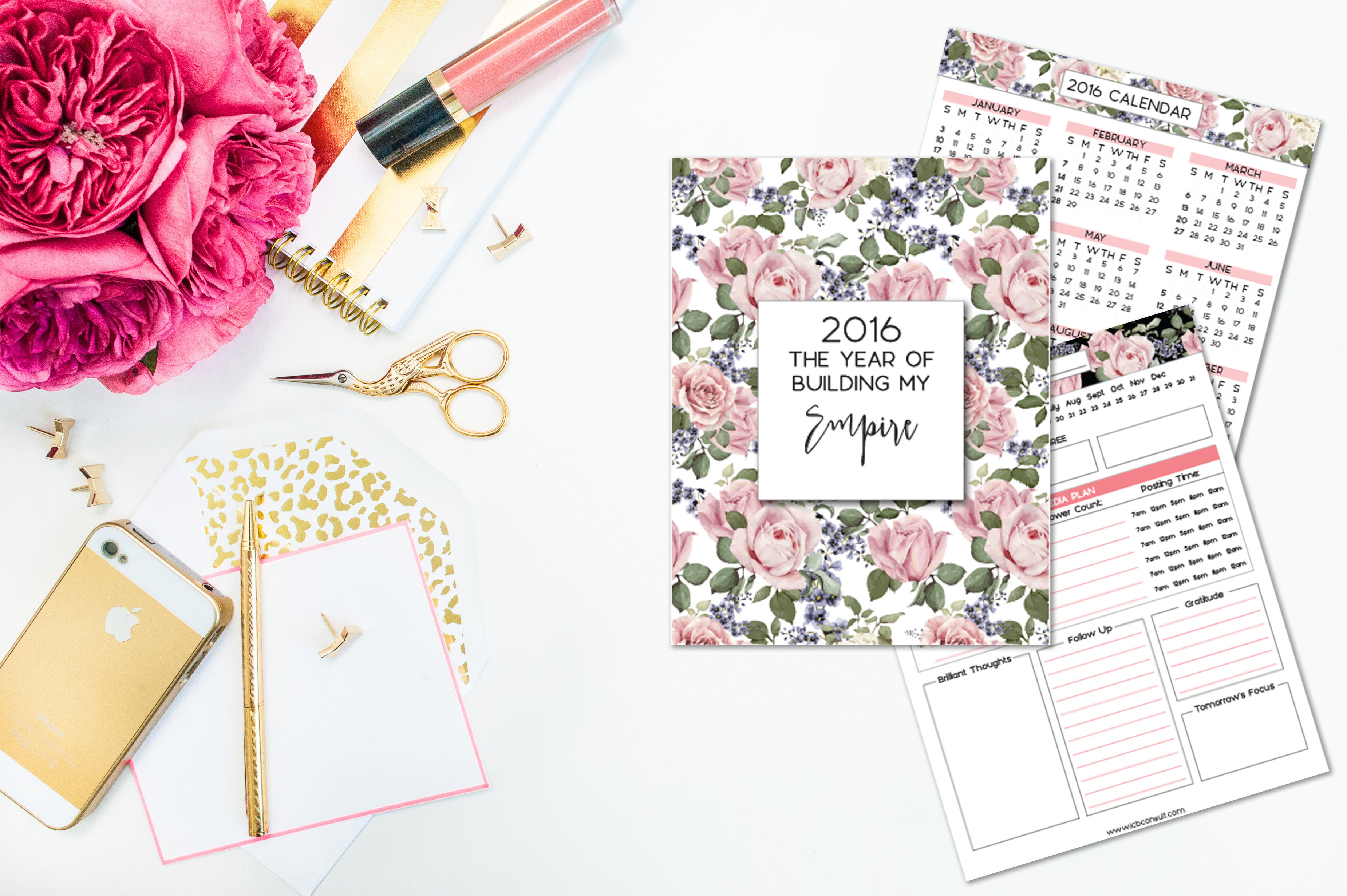 Floral Design Planner