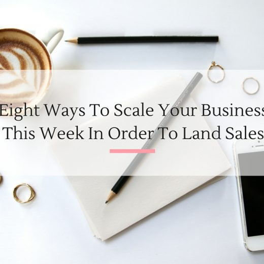 Talking about community, marketing, Facebook ads and other tips on how you can scale your business this week! | Imperfect Concepts #smallbusiness #blogging