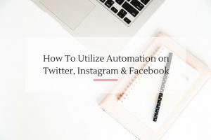 Sharing insider tips on how to really maximize your automation to grow your social media platforms.   Imperfect Concepts #blogging #socialmedia #marketing