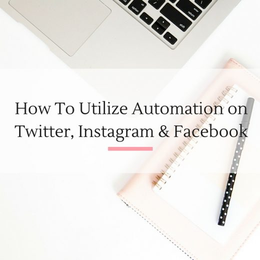 Sharing insider tips on how to really maximize your automation to grow your social media platforms. | Imperfect Concepts #blogging #socialmedia #marketing